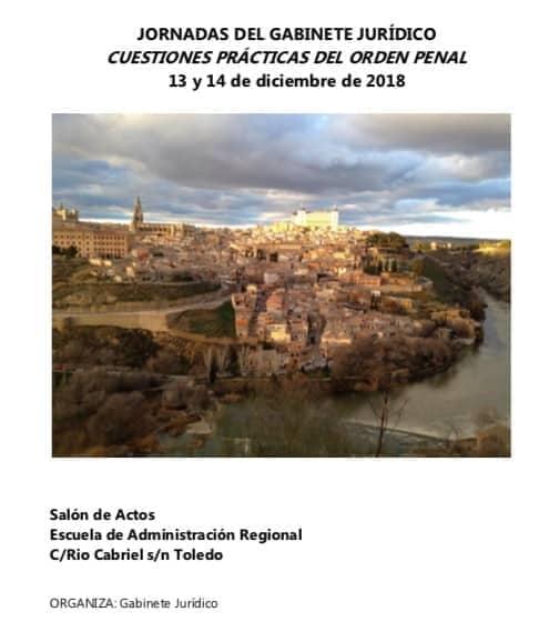 Summons asiste como invitado a las jornadas sobre cuestiones prácticas del orden penal en Toledo
